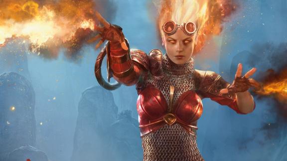 Recenze komiksu Magic: The Gathering – Chandra