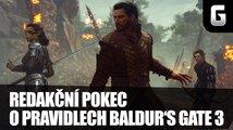 Redakční pokec o pravidlech Baldur's Gate 3