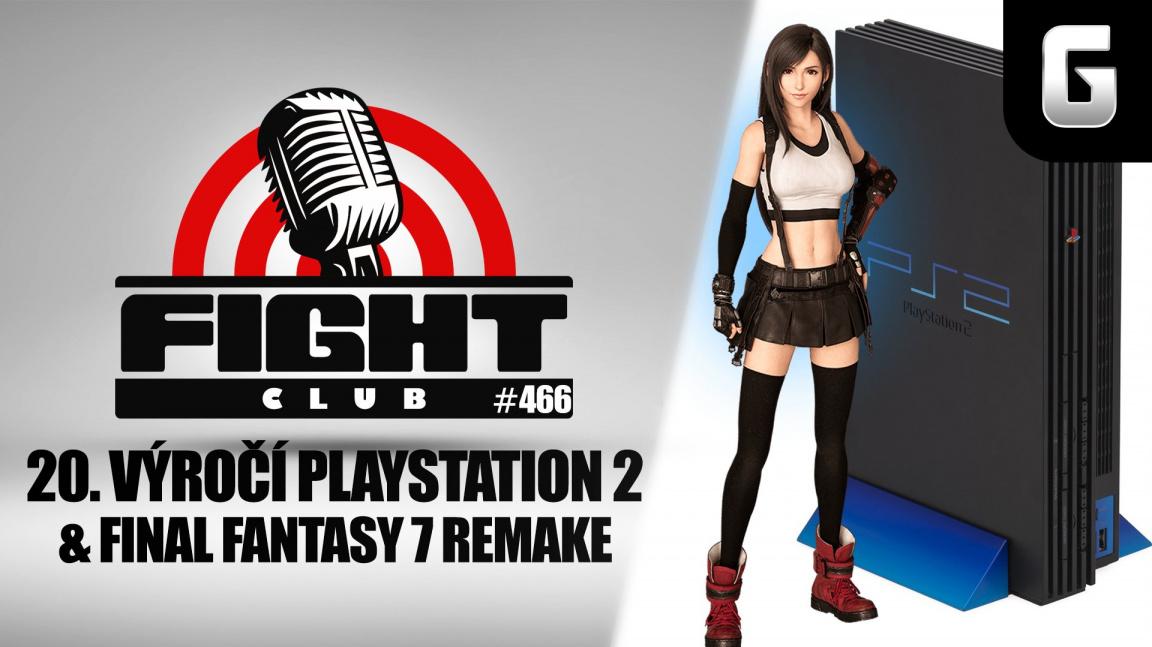 Sledujte Fight Club #466 s Bětkou Trojanovou o Final Fantasy VII i výročí PlayStationu 2