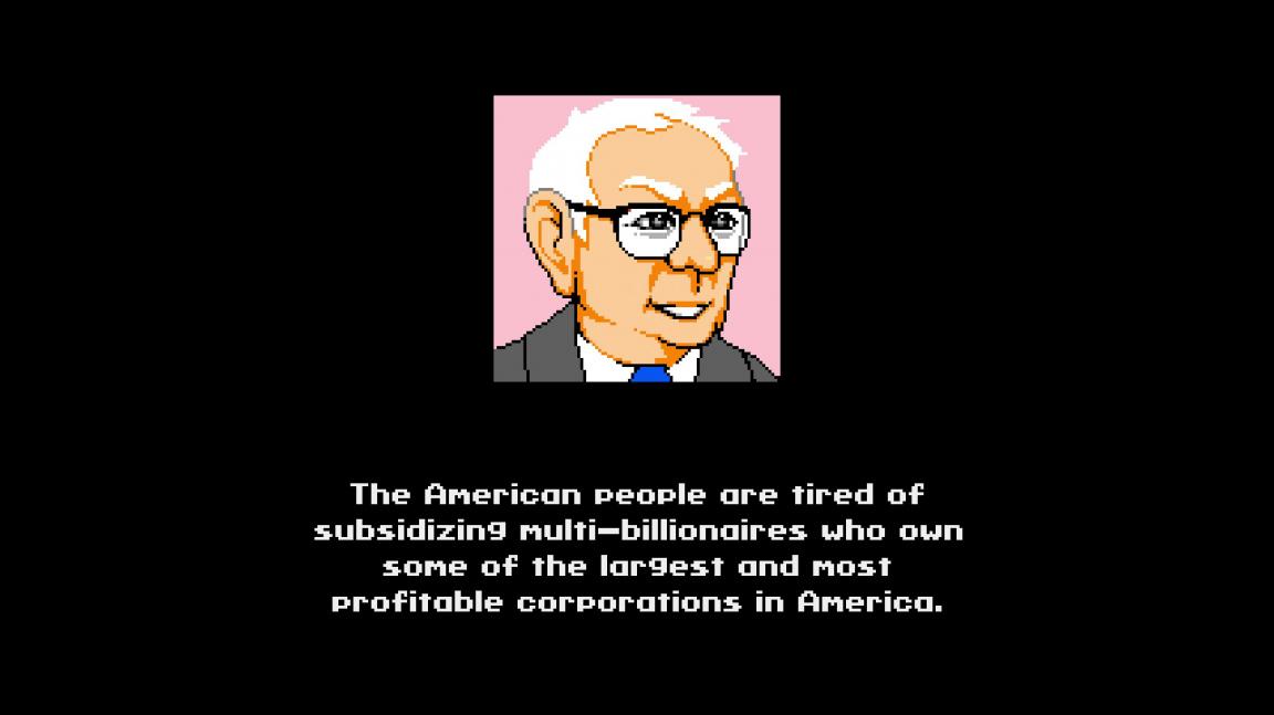 Z instalatéra socialistou. V nové skákačce Bernie Sanders porazí Trumpa