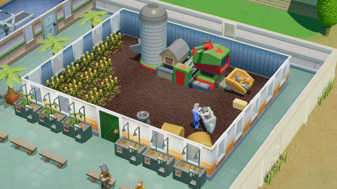 Nemocniční tycoon Two Point Hospital řeší ekologii