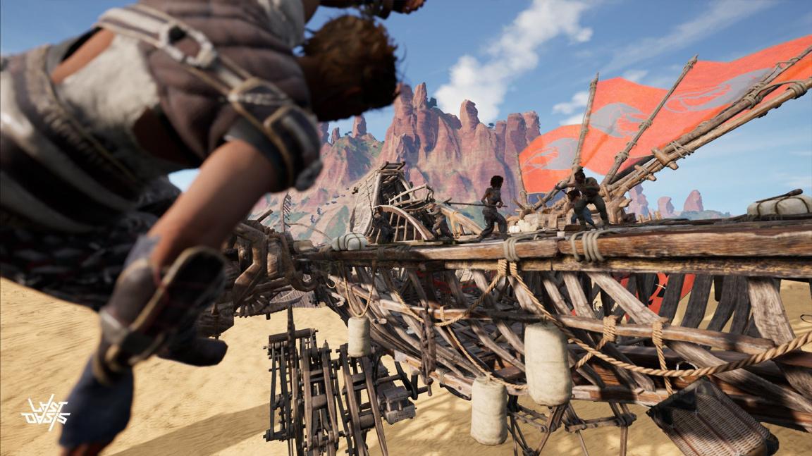 V MMORPG Last Oasis se Země zastavila, staňte se posledními přeživšími nomády