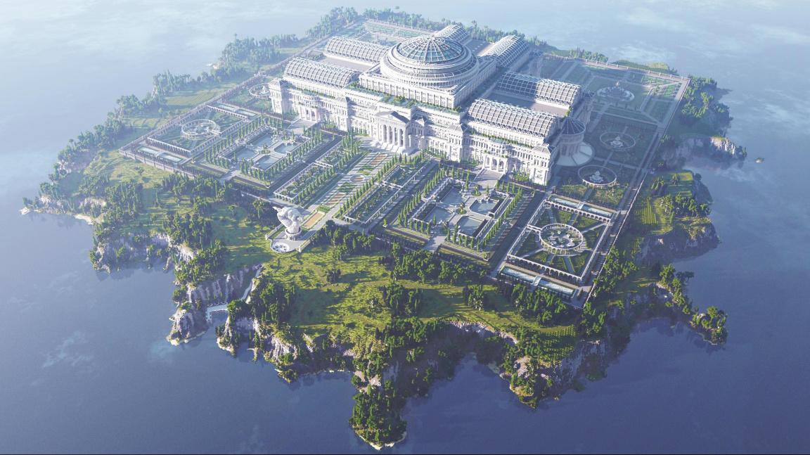 Minecraft proti cenzuře. Vznikla v něm knihovna plná zakázaných článků