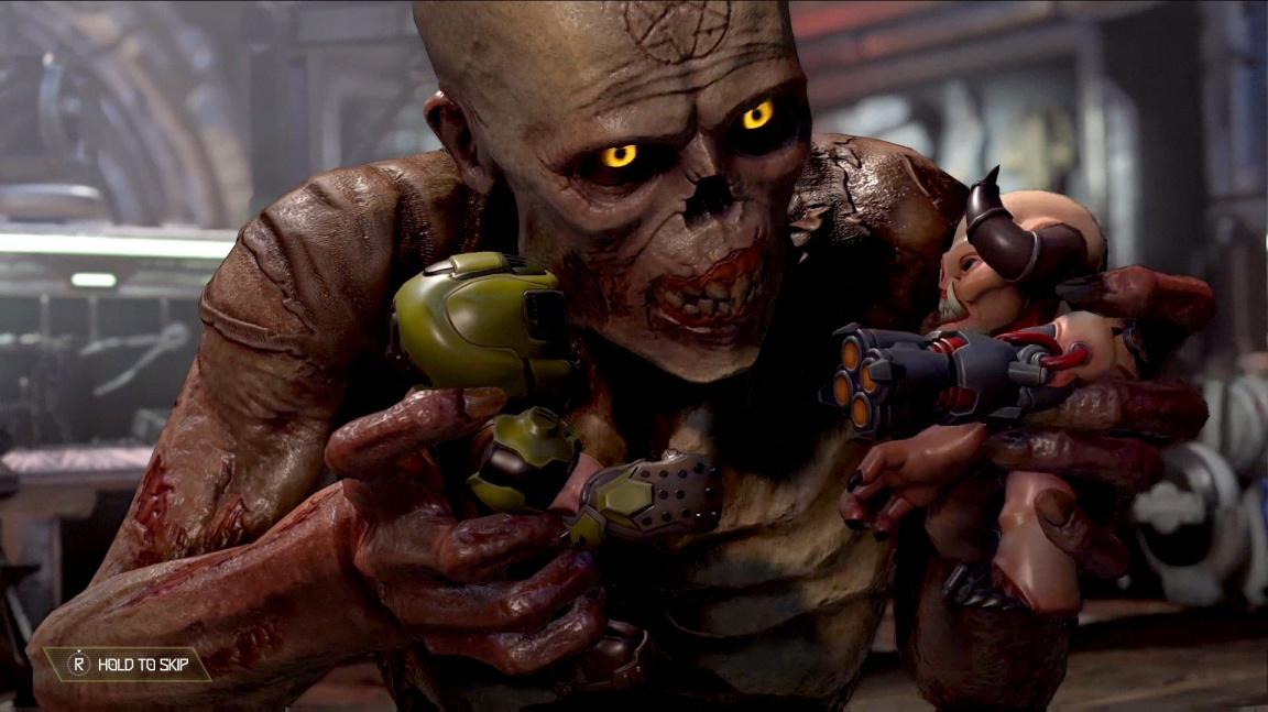 Jak by v Doom Eternal fungovala stará dobrá horda? Vyzkoušejte si mod
