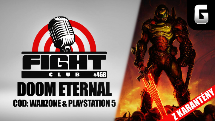 Sledujte improvizovaný Fight Club #468 o Call of Duty: Warzone, Doomovi a PlayStationu 5