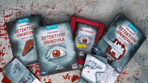 Série deskovek Detektivní únikovka – severské hrůzostrašnosti v paklíku karet