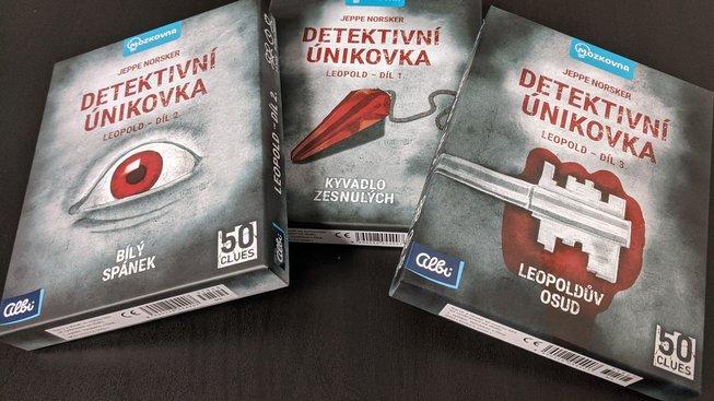 Detektivní únikovka