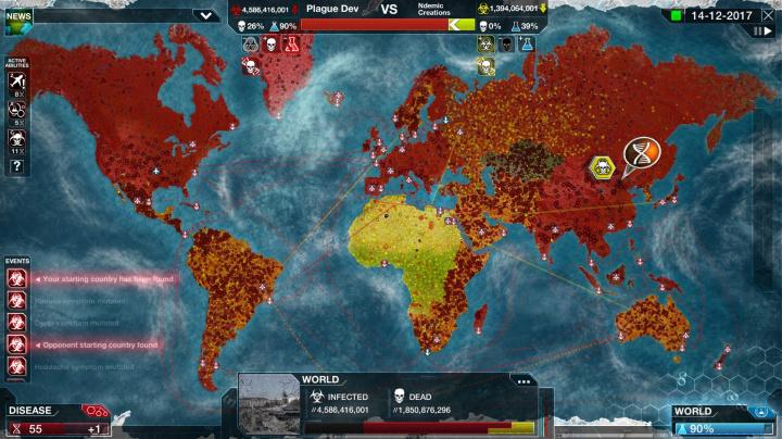 Pandemický simulátor Plague Inc. vám brzy umožní zachránit svět před virem