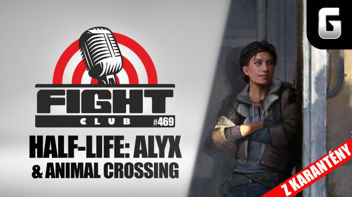 Sledujte Fight Club #469 o Half-Life, Animal Crossing i hrách pro nehráče