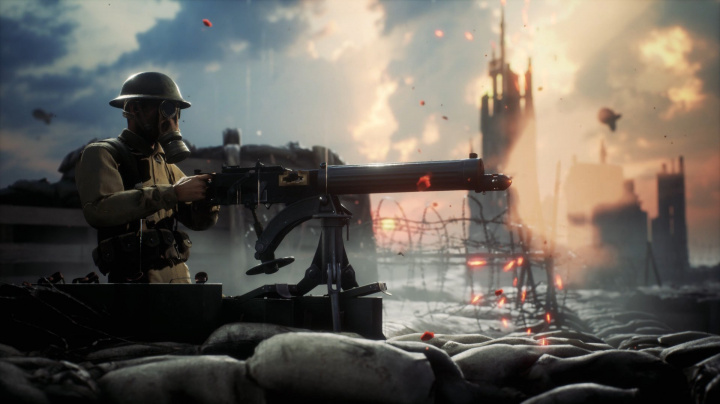 Střílečka Beyond The Wire chce přinést realistický obraz bitev první světové války