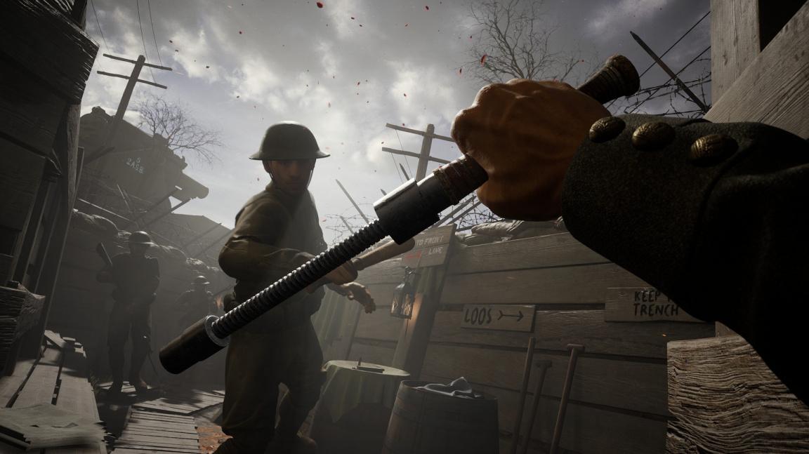 Střílečka Beyond the Wire z první světové války láká do předběžného přístupu