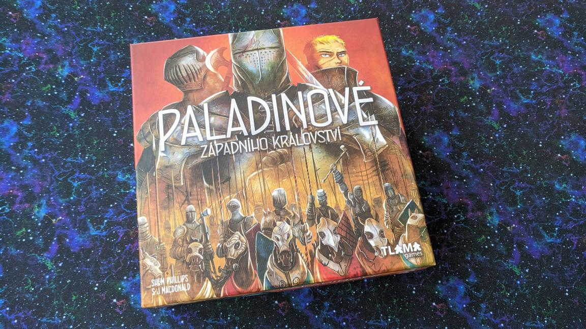 Deskovka Paladinové Západního království: Nový král strategických her?