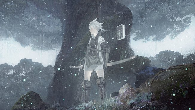 NieR Replicant ver.1.22474487139 Key Art V2