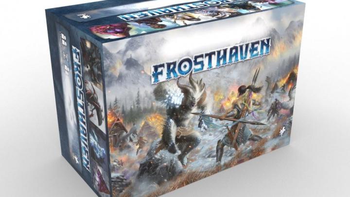 Očekávaná deskovka Frosthaven vybrala za noc 120 milionů korun, vyjde česky