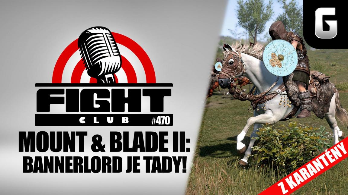 Sledujte aprílový Fight Club #470 o Mount & Blade II: Bannerlord, který vás zaručeně nepobaví