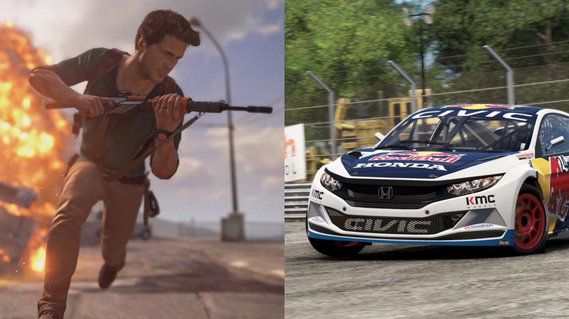 Dubnové Games with Gold a PS Plus nadělují výborné Uncharted a prvotřídní závodní simulátory