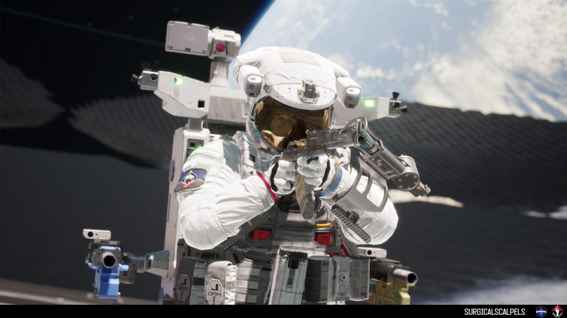 V Boundary po sobě v nulové gravitaci střílejí kosmonauti