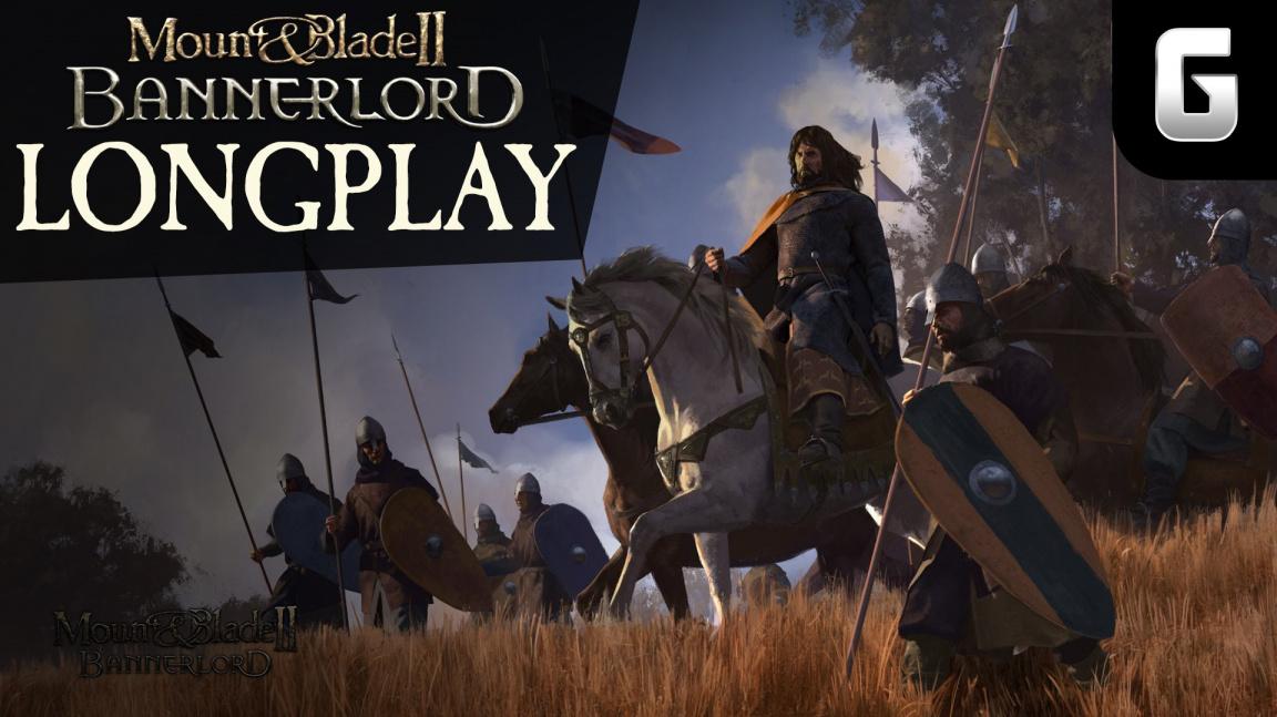 LongPlay Mount & Blade II: Bannerlord #1: První krůčky nájezdníka