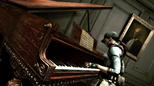 Resident Evil piáno