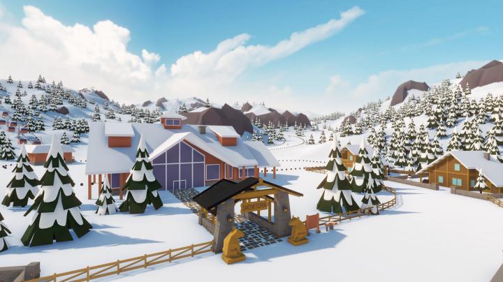Stýská se vám po sjezdovkách? Snowtopia vás nechá budovat vlastní lyžařské středisko