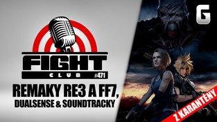 Sledujte Fight Club #471 o ovladači PlayStationu 5, remacích a hudbě
