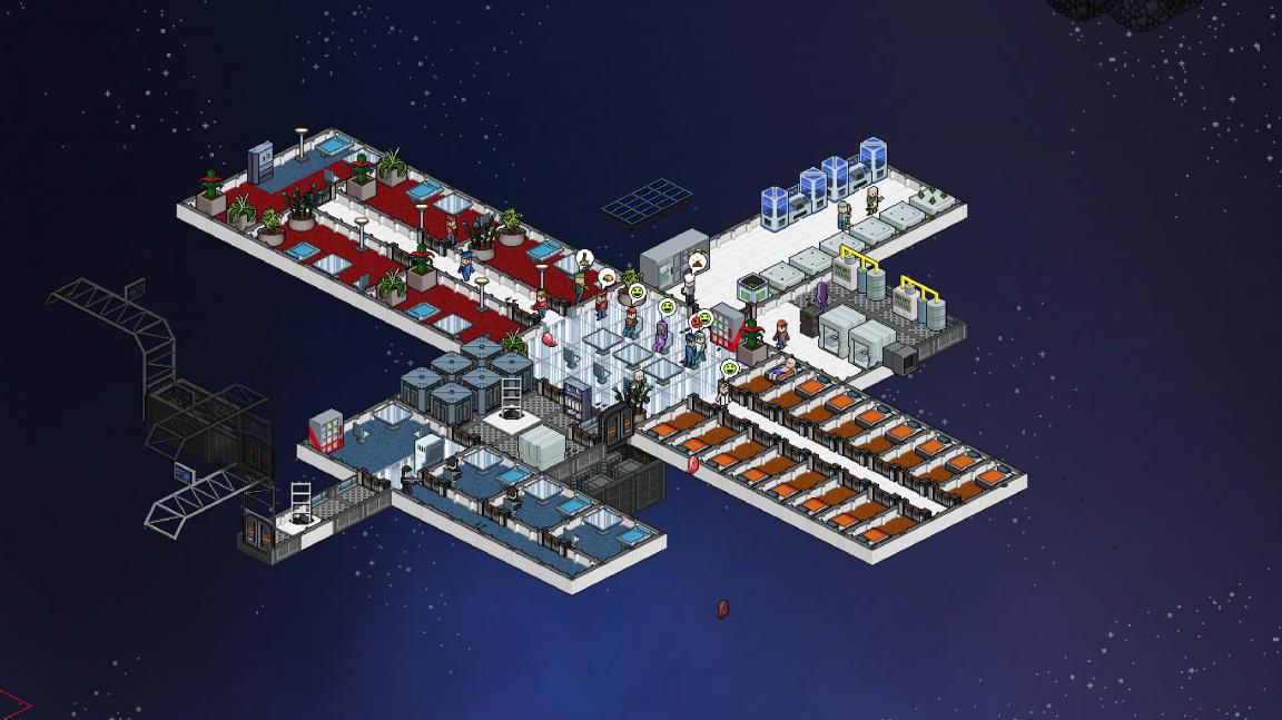 Budovatelská strategie Meeple Station je v podstatě vesmírný Rimworld