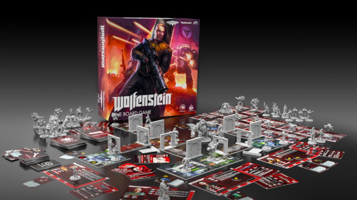 Další deskovkou podle slavné videohry je nácky vraždící Wolfenstein