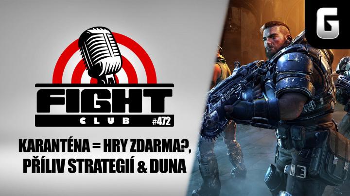 Fight Club #472 o Gears Tactics, XCOM: Chimera Squad a Duně