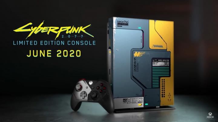 Microsoft odhalil Xbox One X v designu Cyberpunk 2077. Ke koupi bude ještě před vydáním hry
