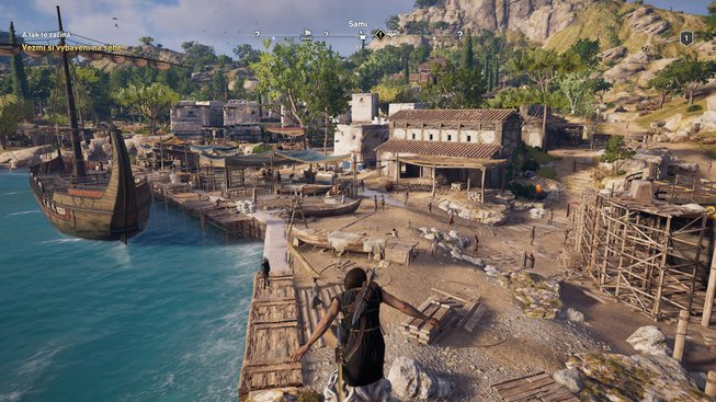 Assassin's Creed Odyssey na GeForce Now