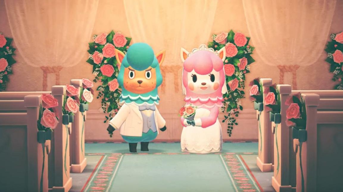 Dubnový update pro Animal Crossing rozšíří svatby, oslaví Den Země a přidá patro plné umění