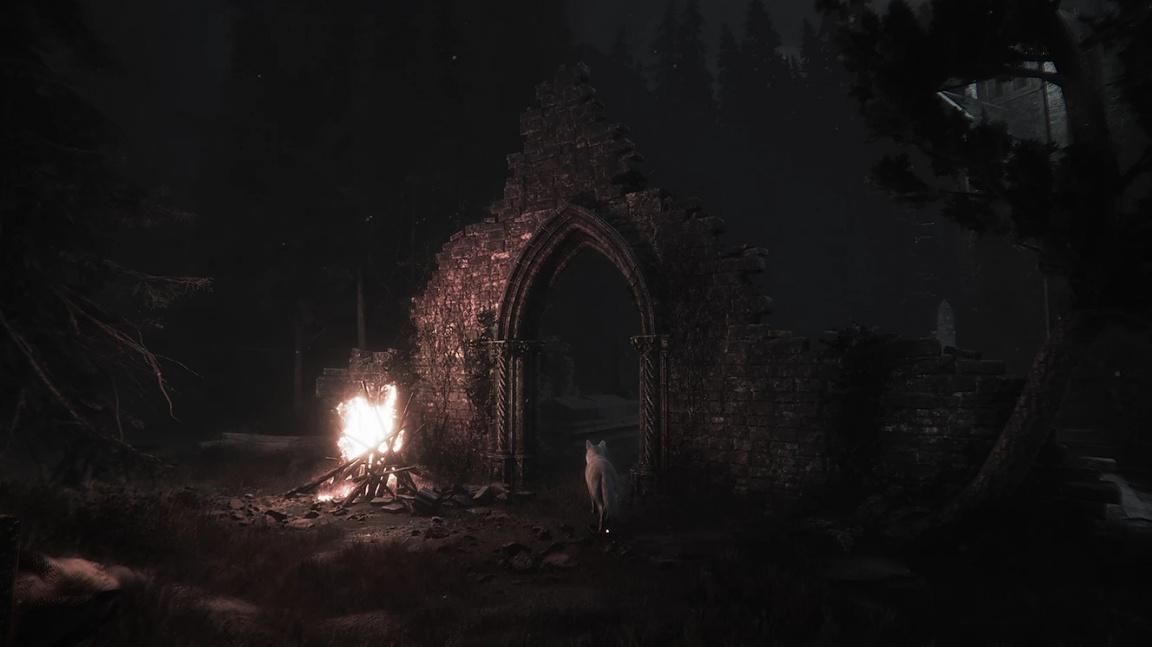 Duchařina Maid of Sker se připomíná trailerem, ze kterého mrazí