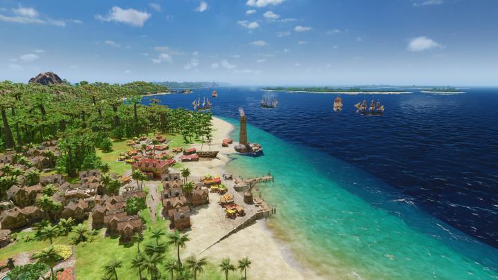 Obchodní strategie Port Royale 4 zakotví v karibských přístavech v září
