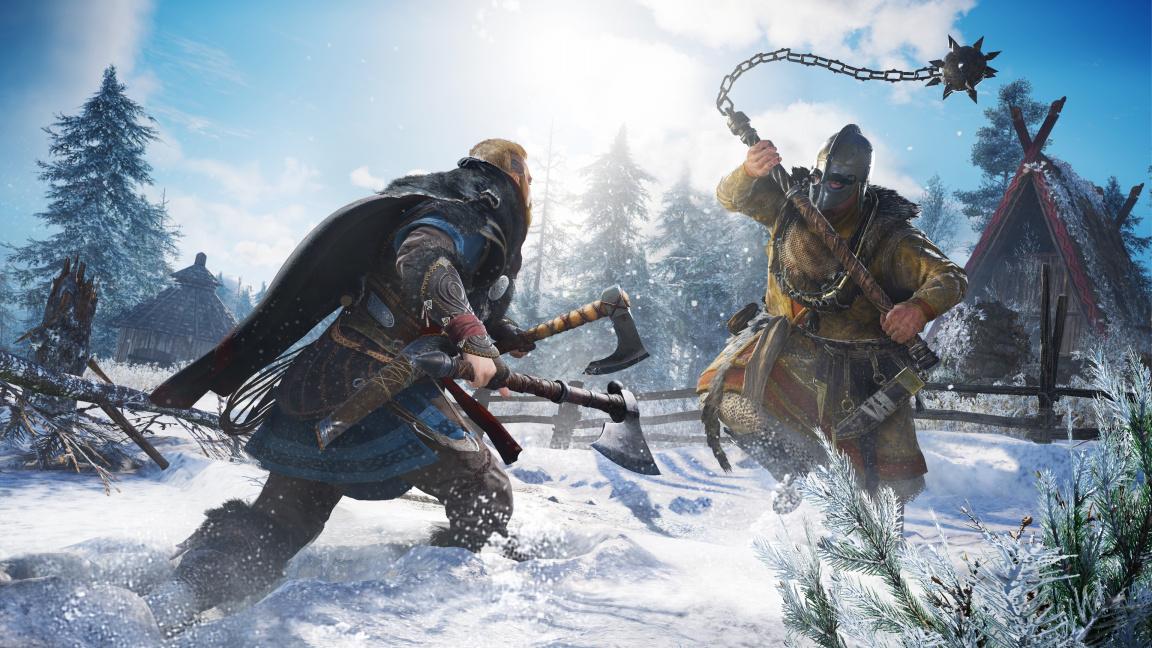 Existenci Assassin's Creed Valhalla prozradila už před rokem The Division 2. Ale jen náhodou