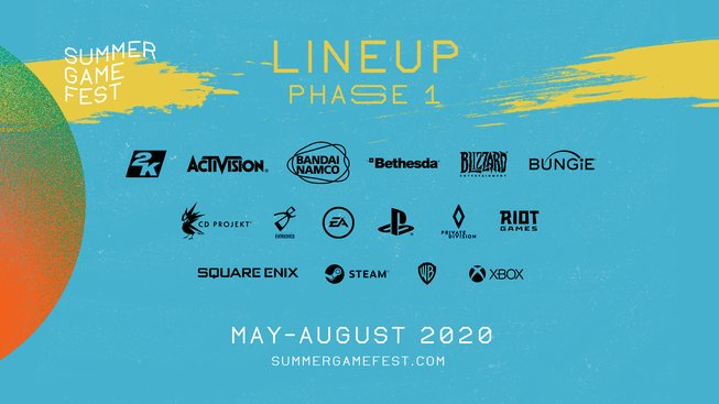 Summer Game Fest Lineup Phase 1