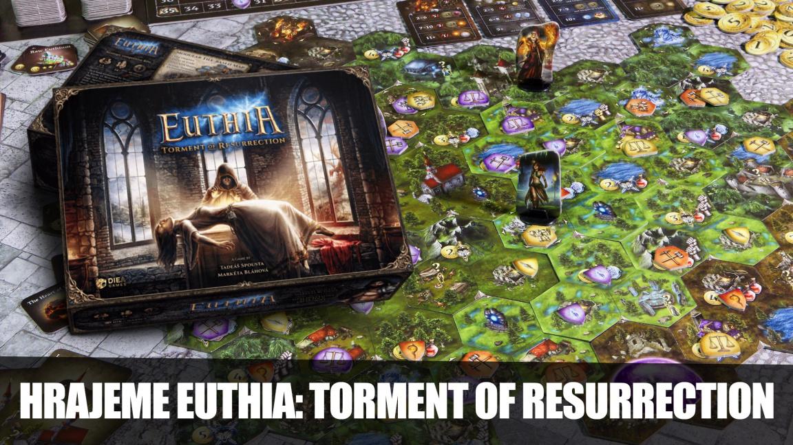 BoardGame Club: Hrajeme české fantasy RPG Euthia: Torment of Resurrection
