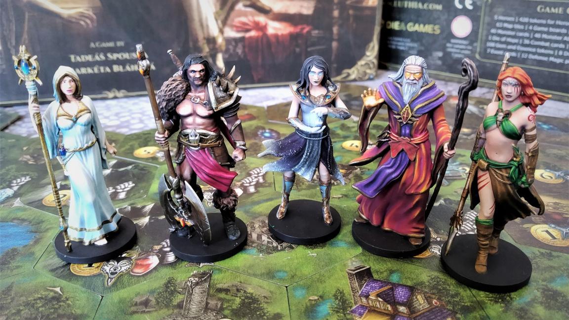 Euthia: Torment of Resurrection představuje Heroes of Might and Magic v podobě deskové hry