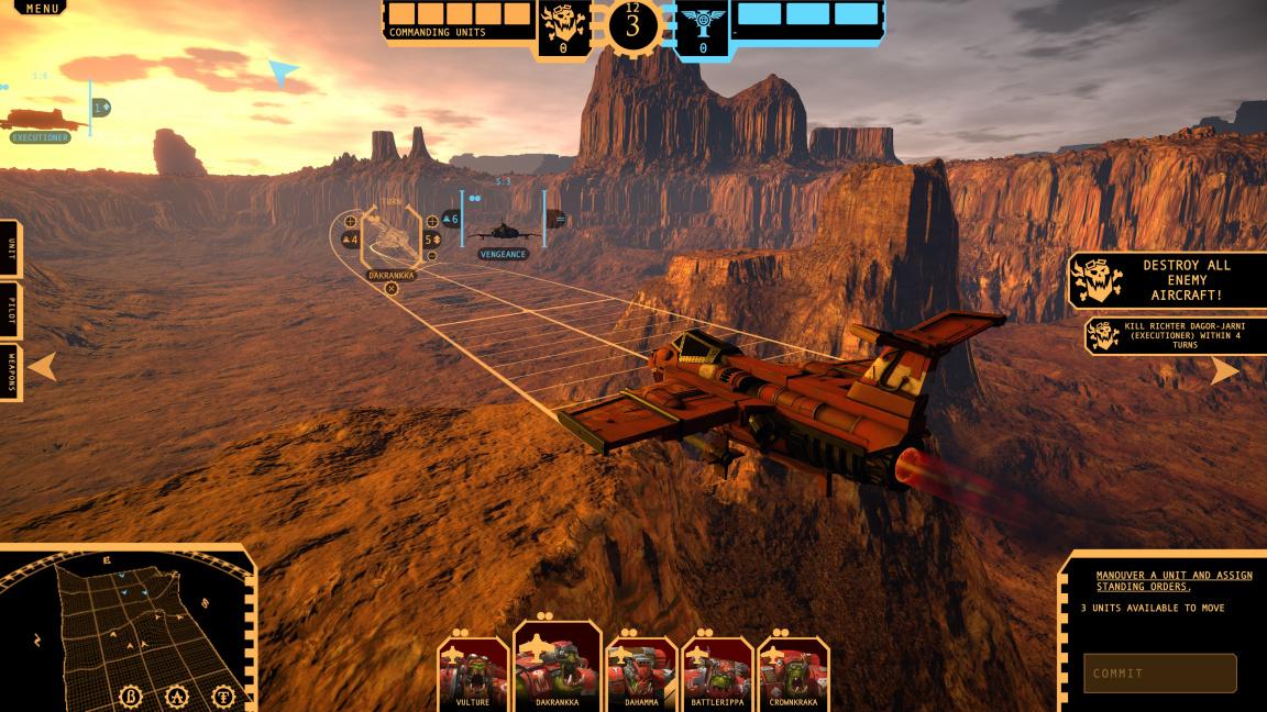 Aeronautica Imperialis je tahová strategie se stíhačkami ve světě Warhammeru 40,000