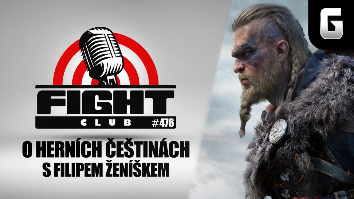 Sledujte Fight Club #476 o chybějící češtině v Assassin's Creed Valhalla a budoucnosti lokalizací