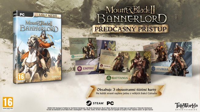 Mount & Blade II: Bannerlord krabicovka