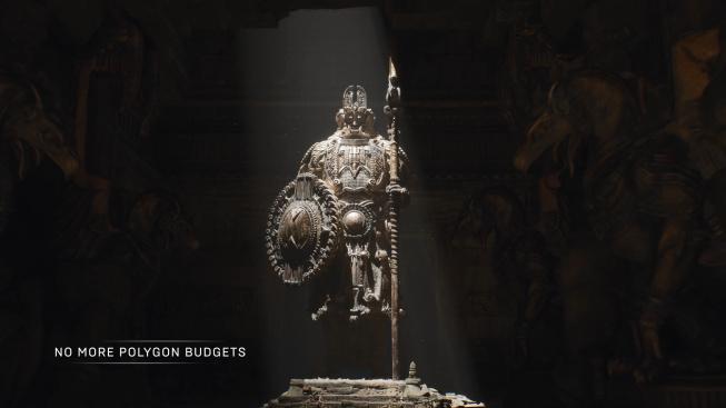 Unreal Engine 5 Nanite tech