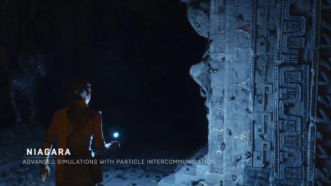 Unreal Engine 5 Niagara tech