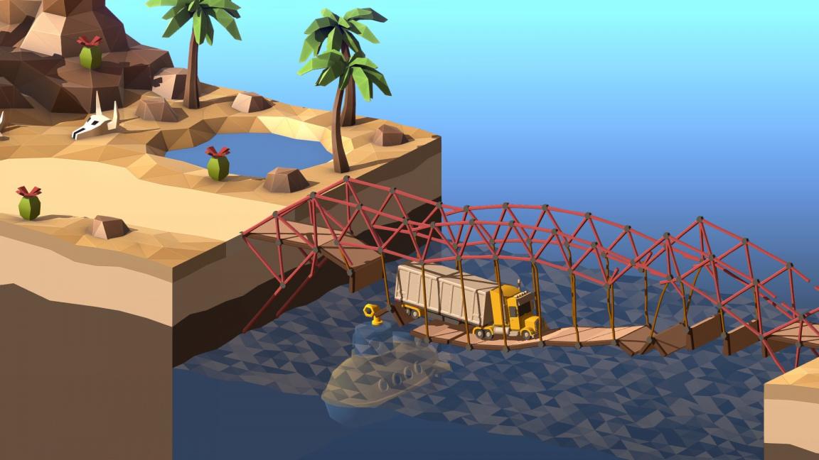 Výborná simulace Poly Bridge dostává překvapivé pokračování