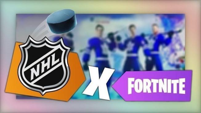 NHL X Fortnite