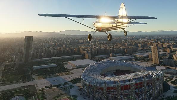 Microsoft Flight Simulator byste si podle uniklých materiálů snadno spletli s leteckou realitou
