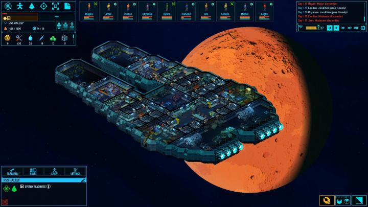 Ve strategii Space Haven vás unesou vetřelci a budete jíst své kolegy