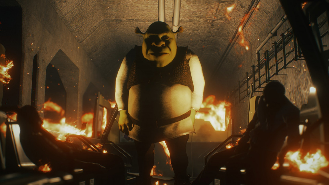 Nejděsivějším modem se stává Shrek coby Nemesis z Resident Evil 3