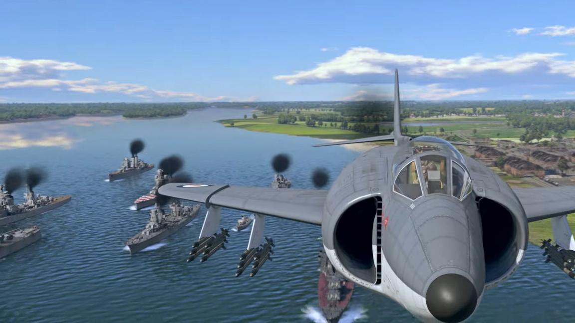 Olbřímí update War Thunderu přidává italské námořnictvo