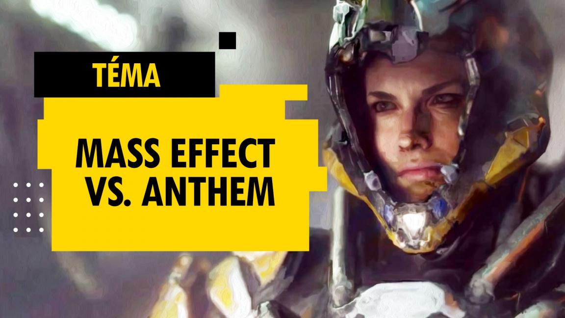 Mass Effect vs. Anthem: Kde udělal Bioware chybu