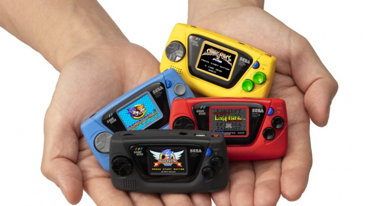 Sega chystá miniaturní verzi konzole Game Gear